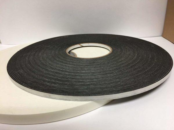 "Double-Side Foam Tape Creative Craft Vinyl 1/4""x36yds Black 1/16"" Thick"