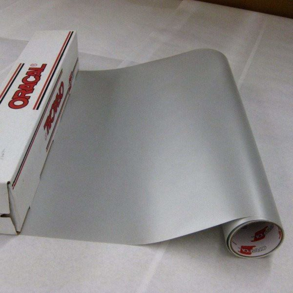 "ORACAL® 8510 Vinyl - 090 Silver Fine Creative Craft Vinyl 12"" x 24"""