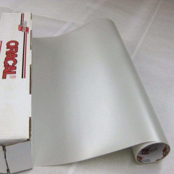 "ORACAL® 8510 Vinyl - 094 Silver Coarse Creative Craft Vinyl 12"" x 24"""