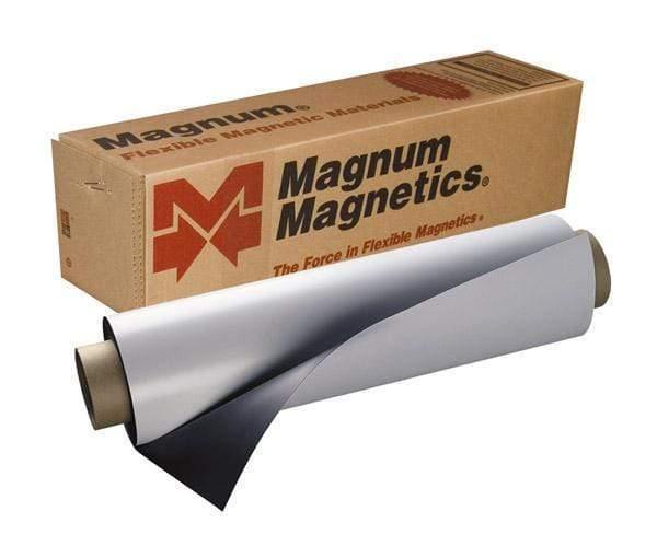 "Vehicle Magnetic Sheeting Creative Craft Vinyl .030 / 24"" x 5 Feet"