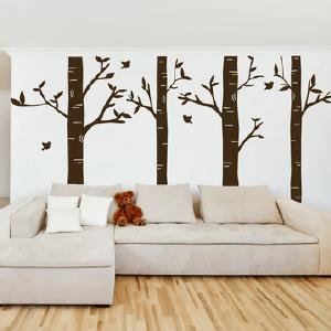 Adhesive vinyl-wall art