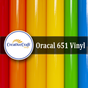 Oracal 651 Vinyl color rolls