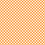 Orange Checkered