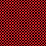 Red Black Checkered