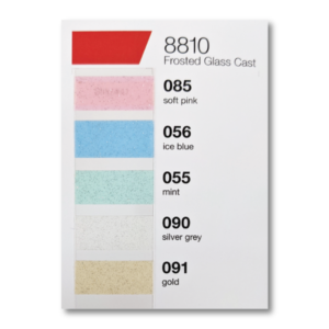 ORACAL® Glass Decoration Color Chart