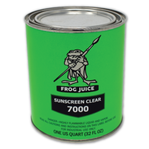 Frog Juice Sunscreen Clear 7000 Solvent-Based