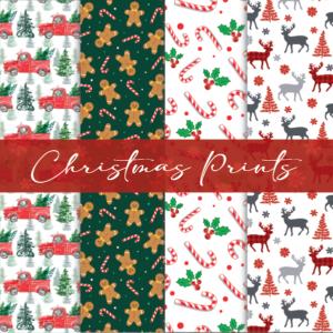 Printed Patterns – Christmas Prints